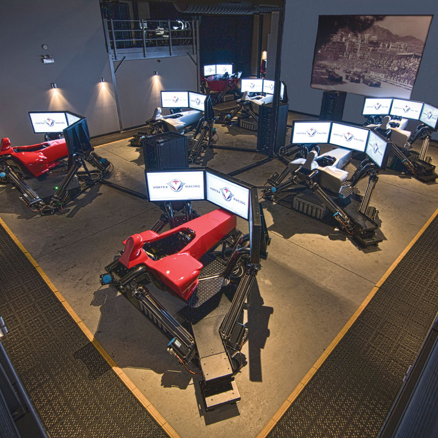 Vortex Racing - Montreal's Racing Simulation Entertainment Experience